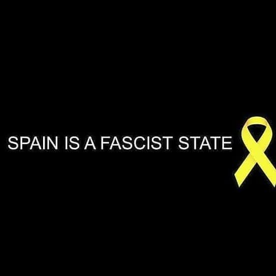Spain is a fascist state  #spainisafasciststate #primaveracatalana #republicacatalana #FreedomforCatalonia #helpCatalonia