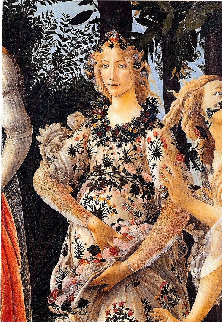 """Portret """"Proljeća"""" predstavlja jedan od ranih primjera renesansnog idaela ženske lepote."""