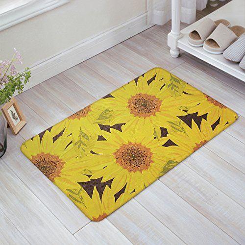 Olivefox Funny Waterproof Bathroom Doormat Home Decor Welcome Mat