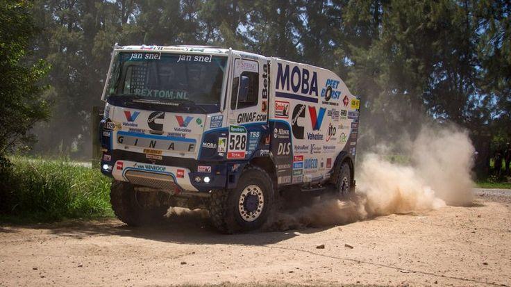 Las aventuras y piruetas de los camiones en el Dakar | Rally Dakar - Infobae