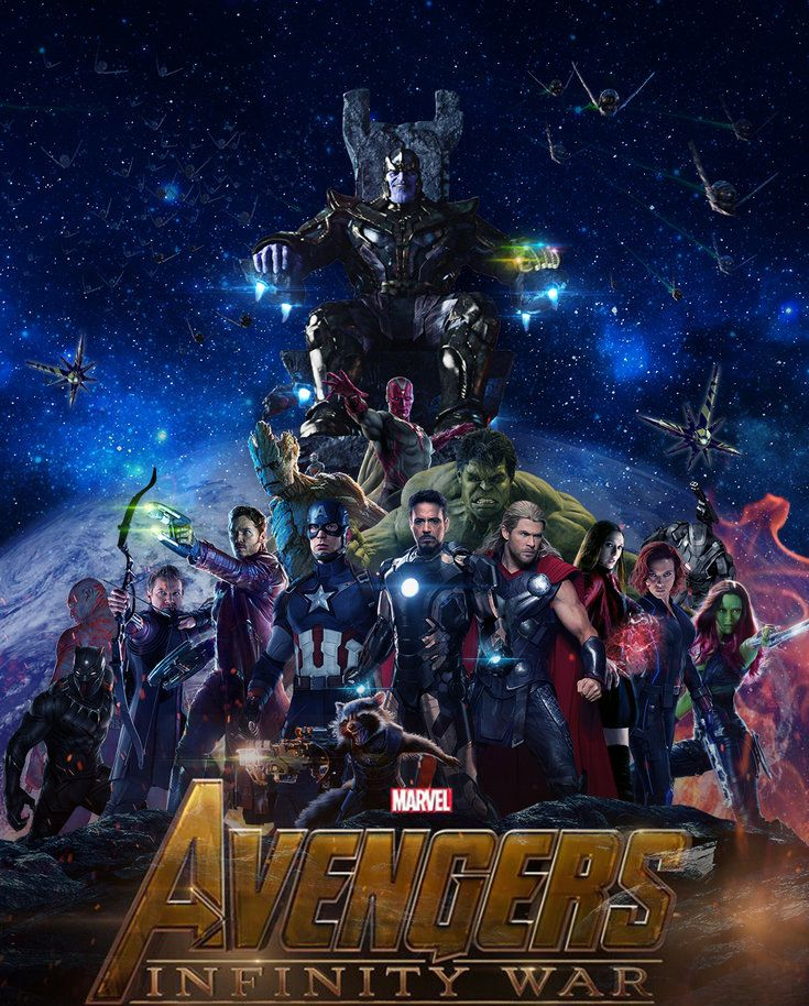 Vingadores: Guerra Infinita – Vin Diesel confirma Guardiões da Galáxia no filme (fã pôster)
