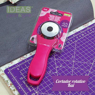 Nuevo cortador rotativo KAI de color rosa