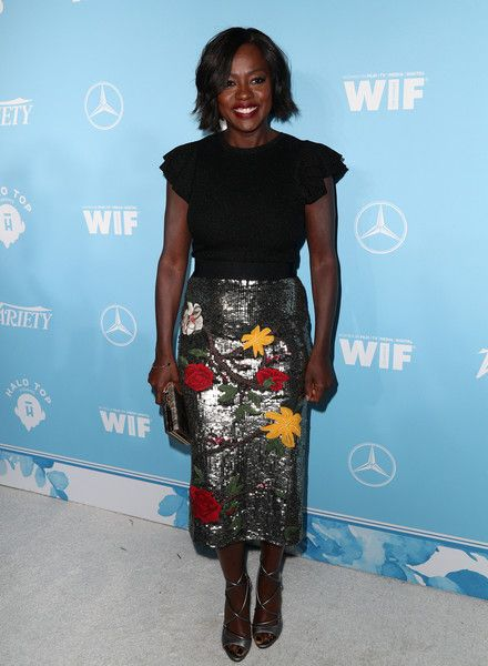 Actress Viola Davis attends the Variety and Women In Film's 2017 Pre-Emmy Celebration at Gracias Madre on September 15, 2017 in West Hollywood, California. - Viola Davis Photos - 17 of 3497