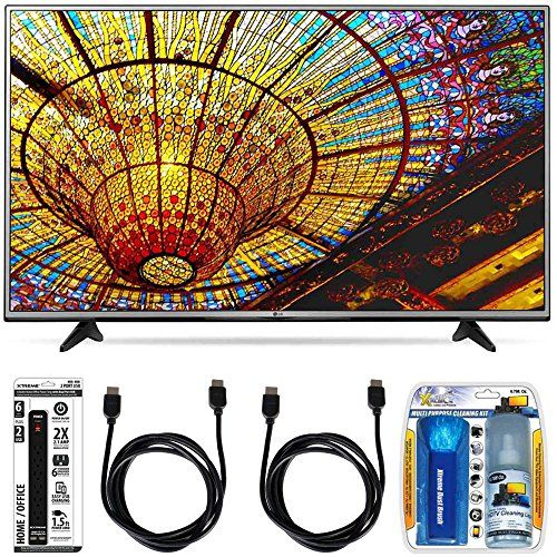 Bundle Includes LG 65UH6030 65-Inch 4K UHD Smart TV Performance TV/LCD Screen Cleaning Kit 6 Outlet Power Strip with Dual USB Ports HDMI to HDMI Cable 6' (Qty 2) 65' Class (64.5' Diagonal) 4K UHD Smar...
