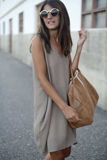 Neutral, great for casual days.