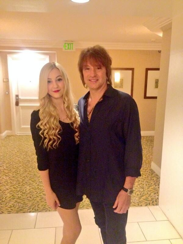 RICHIE SAMBORA on in 2019 | Richie, Heather and Ava ... Stephen Campbell Moore