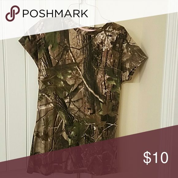 Girls camo top Camo top realtree Tops Tees - Short Sleeve