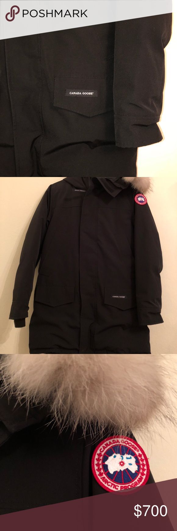[100% AUTHENTIC] Canada Goose: Langford Parka MENS Canada Goose parka, but it fits females as well. Super warm and cozy for the winter. Barely used and has no imperfections and looks *BRAND NEW*. Comes from a no smoking home. Accepting offers on Poshmark ONLY. PRICE IS FIRM. Canada Goose Jackets & Coats