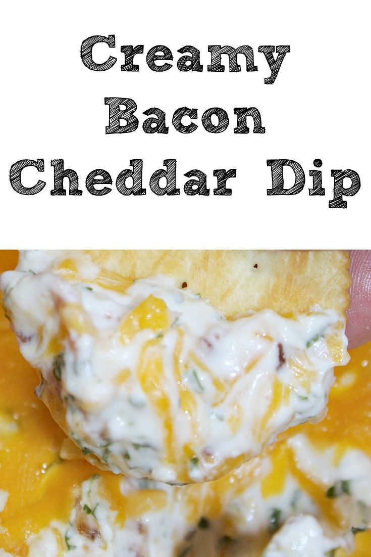 This Creamy Cheddar Bacon Dip is perfect to make for any tailgating get together and pairs up perfectly with crackers and Coke as well.  #ad #TogetherForGameTime #tailgating #cheese #bacon
