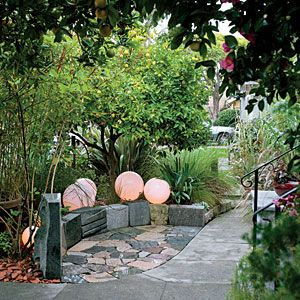 24 great ideas from the Western Garden Book of Landscaping | Add instant lighting | Sunset.com