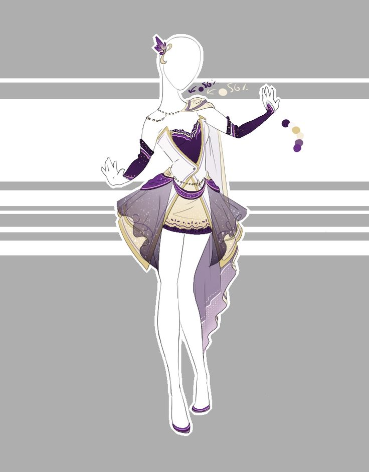 images of anime clothes: .::Outfit Adoptable 67(OPEN)::. By Scarlett-Knight