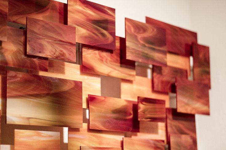 Sunset by Karo Martirosyan (Art Glass Wall Sculpture)   Artful Home