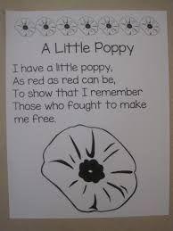 Image result for veteran poppy poem