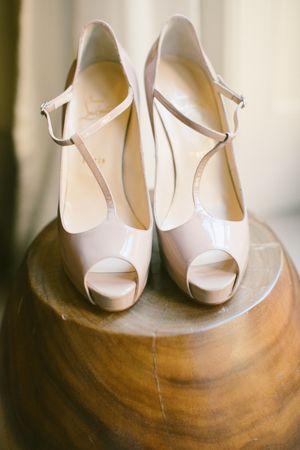 T-strap heels