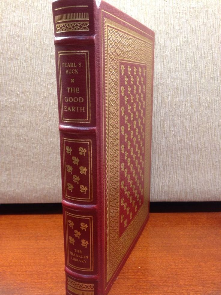 The Good Earth Pearl S. Buck Franklin Library Full Leather 100 Greatest Books