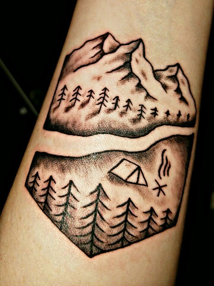 17 best ideas about hiking tattoo on pinterest adventure tattoo travel tattoos and simple. Black Bedroom Furniture Sets. Home Design Ideas