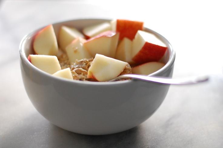 Apple and almond butter breakfast crisp | Morning inspirations | Pint ...
