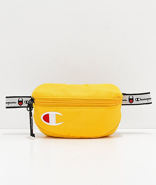 c82ad3d7193 Champion Attribute 2.0 Gold Fanny Pack   bags   Pinterest   Bags ...