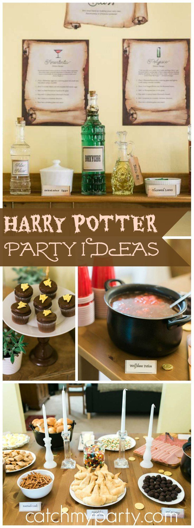You have to see this amazing Harry Potter birthday party!                                                                                                                                                                                 More