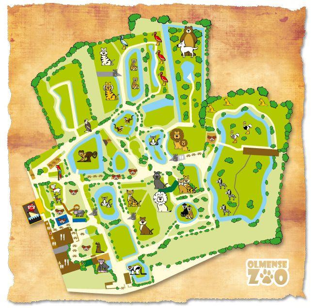 plattegrond dierentuin - Google zoeken