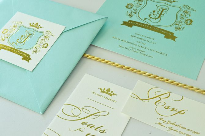 Check out some common rules for debut invitations and other stationery.