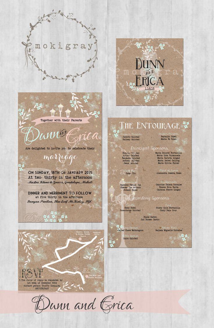 Wedding Invitation Suite Facebook 25 best Moki