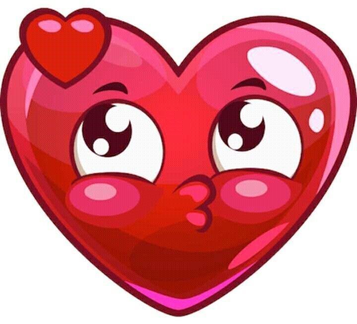 Прикольные картинки сердечек