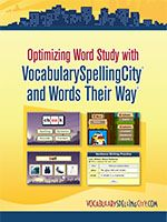 This video shows you the best ways to use VocabularySpellingCity activities and tools effectively with the Words Their Way® reading program. Learn how to personalize word study for each student's l