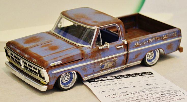 Moebius Ford truck model