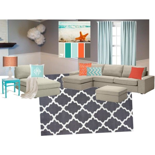 this is pretty much my living room pallete minus the orange but I might have to add some orange into my life..