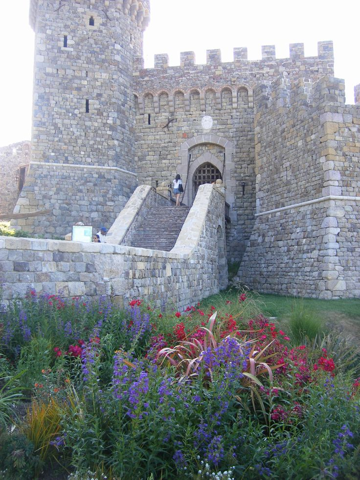 Castello di Amorosa Winery in Nappa Valley California