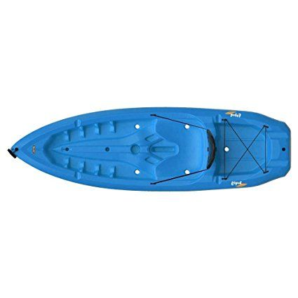 Amazon.com : Lifetime Lotus Sit-On-Top Kayak with Paddle, Blue, 8' : Sports & Outdoors