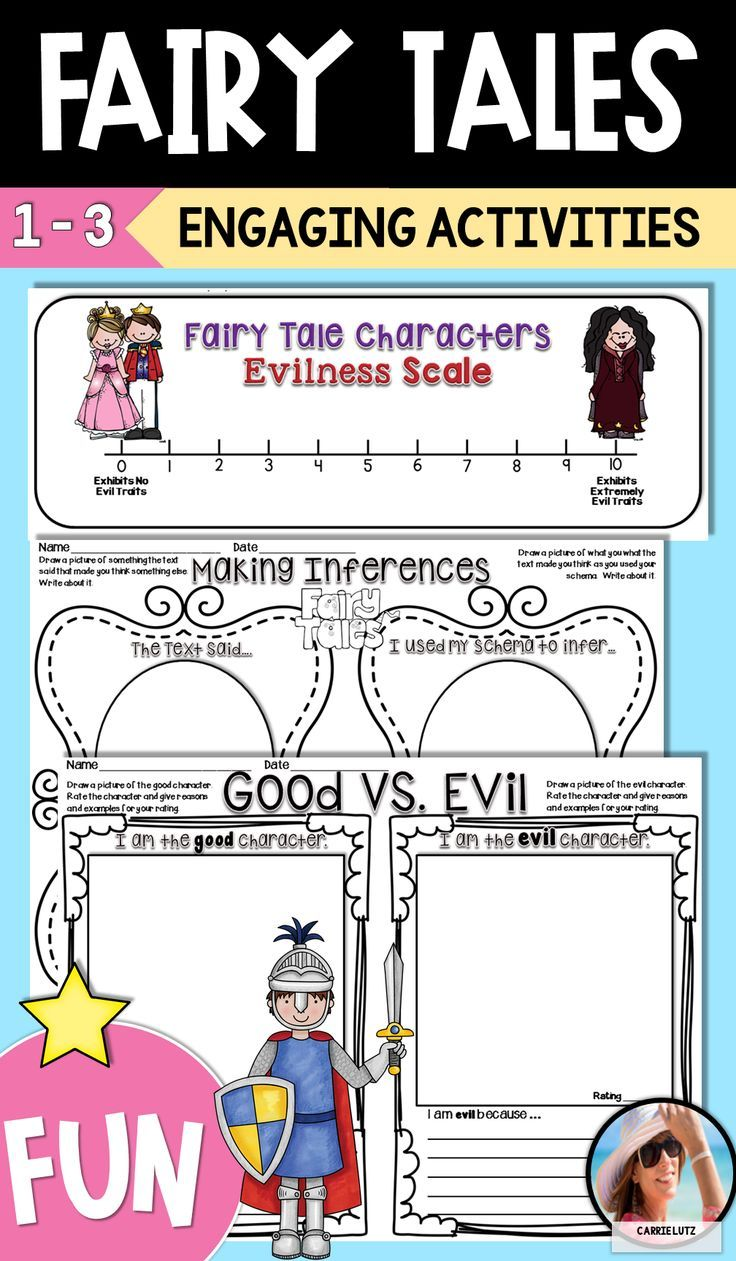 First Grade Fairy Tales Worksheets   Reading fun [ 1261 x 736 Pixel ]