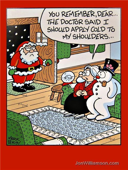 christmas funny pictures | Funny Christmas Card Cartoons pt. 5