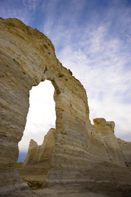 Monument Rocks in Kansas   Natural Wonders of Western Kansas