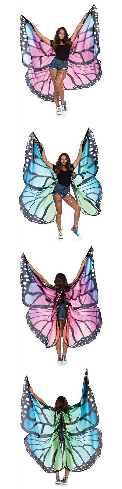Wings Tails Ears and Noses 155351: Sexy Festival Wings Butterfly Rave Dance Show Wings With Sticks Support A2782 -> BUY IT NOW ONLY: $49.95 on eBay!