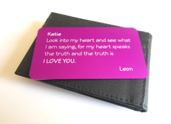22 best Love and relationships, Romance, Aluminum Wallet card ...