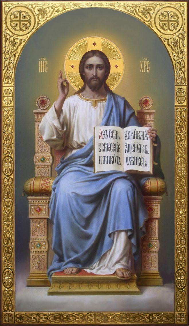 Иконы и картины на Библейские сюжеты Дмитрия Николаевича Хомякова.