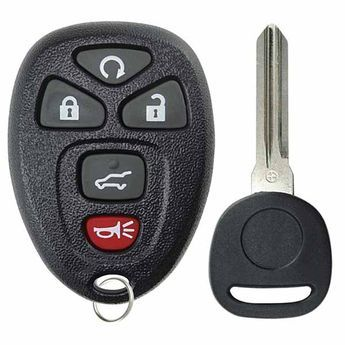replacement keyless entry remote control car key fob for buick cadillac chevrolet gmc saturn enclave escalade esv ext srx suburban tahoe traverse acadia yukon outlook 2007 2008 2009 2010 2011 2012 2013 2014 2015 2016 2017 OUC60270 OUC60221 15913415