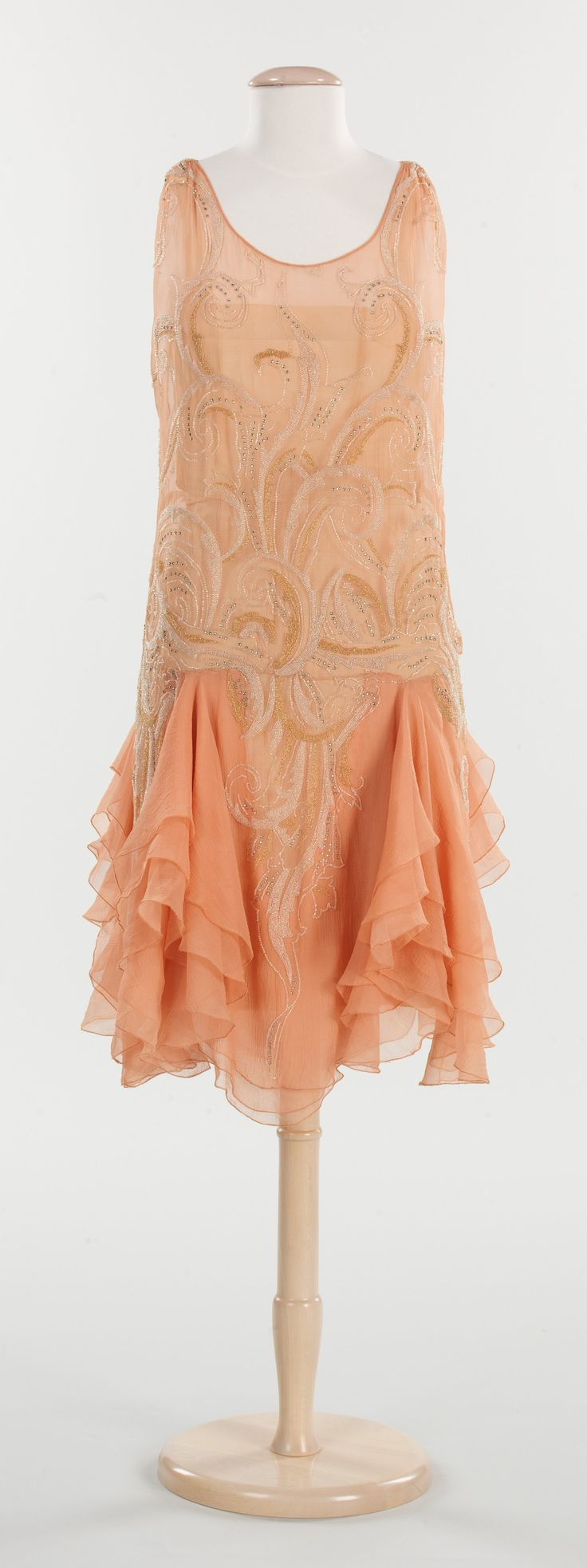 Evening Dress ~ 1926–1928 ~ French ~ Silk