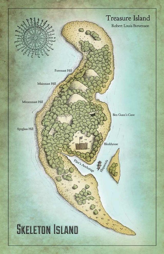 Rpg Map Island
