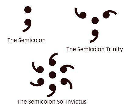 Incredibly Cute and Inspiring Semicolon Tattoo Designs ...