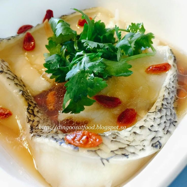 Miki's Food Archives : Steamed Snow Cod Steak - Basic Steamed Fish Method...
