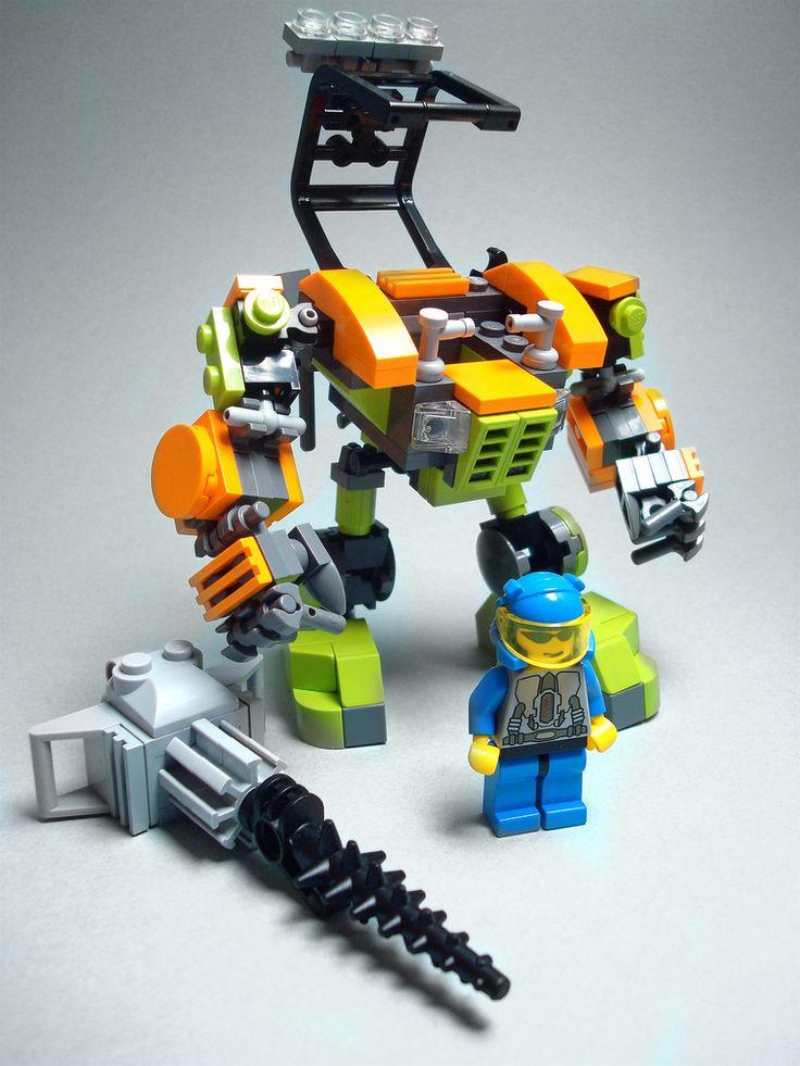 Power Miner Mech-collier
