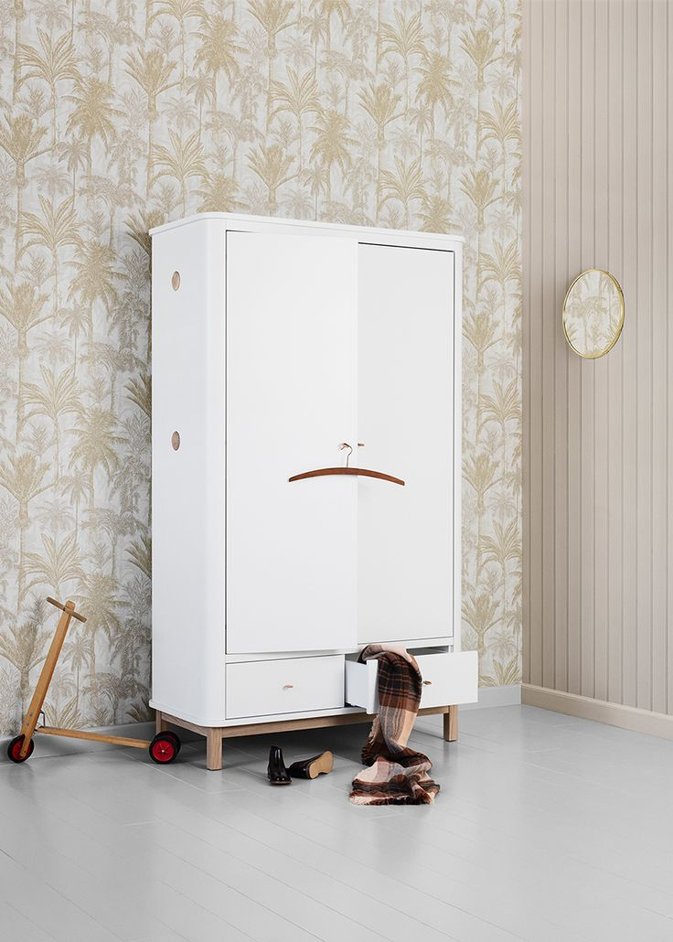 Wood Collection wardrobe w. 2 doors