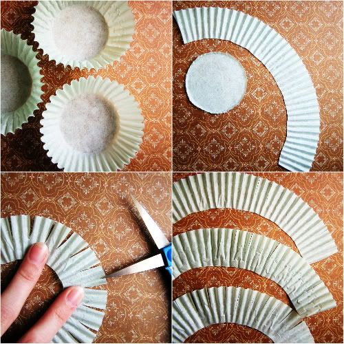 How To Make Flowers From Cupcake Liners Just Did This