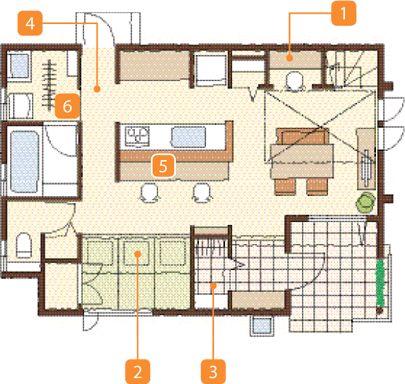 暮らし方提案「子育てしやすい住まい」 間取りと暮らし方 注文住宅 ダイワハウス