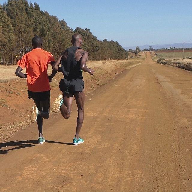 """nicerunningday: """" Mo Farah in Kenya """""""
