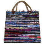 At the Sea Fabric Kilim Tote Bag