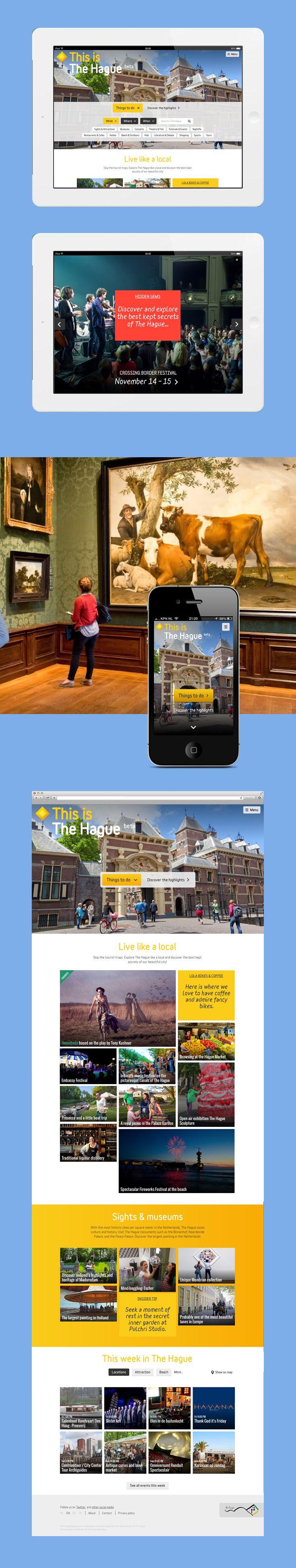 Den Haag - Portfolio of Twan Minten  #Webdesign